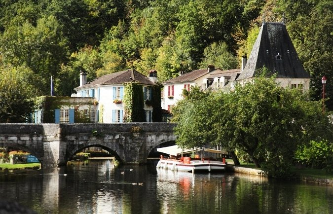 Brantome, a perfect spot to visit on holiday