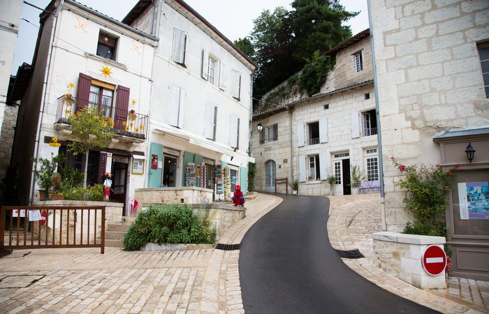 Aubeterre cafe Gite in Charente, South west France