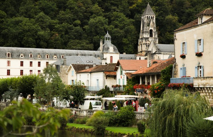 Brantome - Views, Holiday cottage in Charente, South west France
