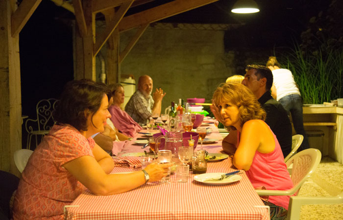 Family friendly holiday accommodation France - Weekly pizza night