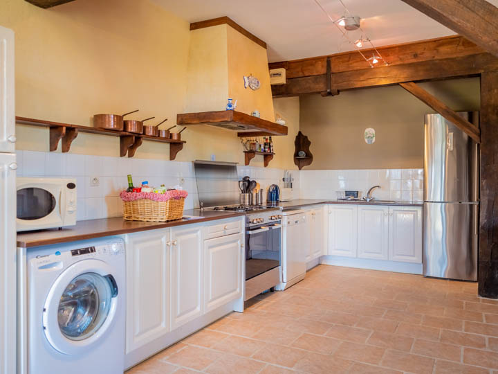 kitchen, family friendly cottage in Charente, South west France