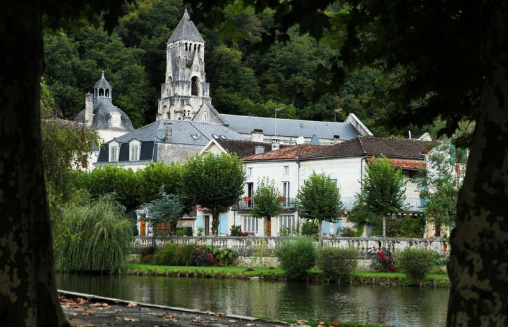 Brantome - Views Gite in Charente, South west France