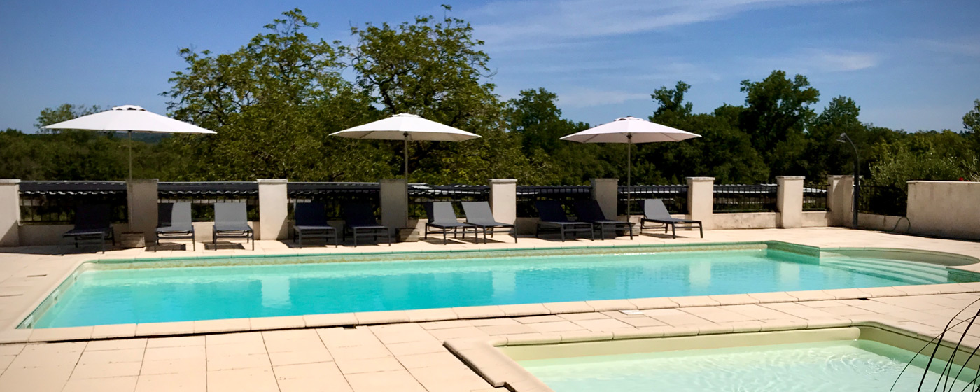 Heated pool and children's paddling pool, Holidays in South West France